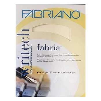 کاغذ کتان فابریانو مدل 100g سایز A4 بسته 50 عددی