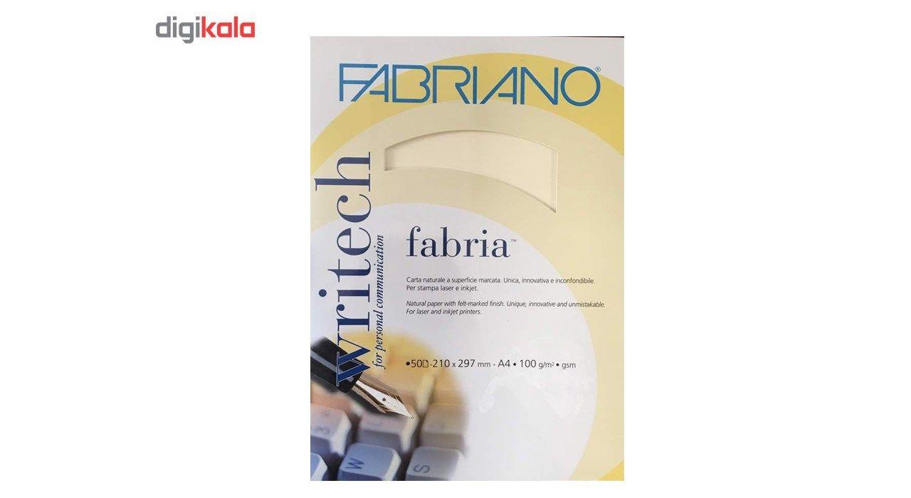 کاغذ کتان فابریانو مدل 100g سایز A4 بسته 50 عددی main 1 1