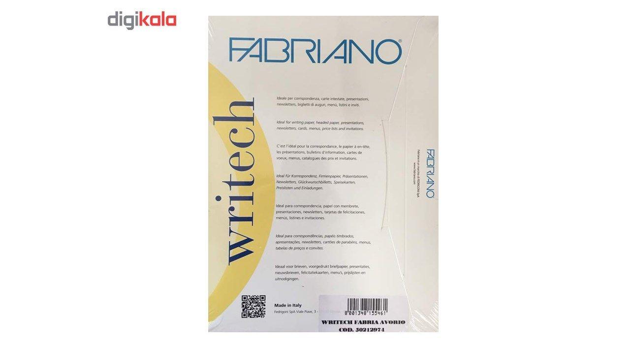 کاغذ کتان فابریانو مدل 100g سایز A4 بسته 50 عددی main 1 2