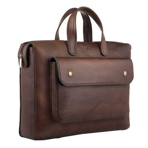 کیف اداری مردانه چرم طبیعی گلیما مدل 236G