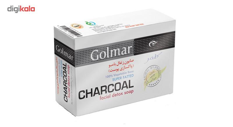 صابون زغال گلمر مدل Charcoal مقدار 115 گرم