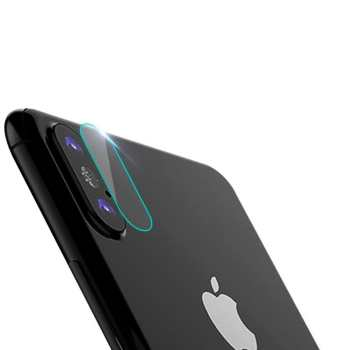 محافظ لنز دوربین شیشه ای کوتتسی مدل تمپرد مناسب برای گوشی موبایل اپل آیفون X