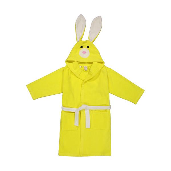 حوله پالتویی کودک سلین طرح خرگوش مدل RCELLIN7-6 سایز 70