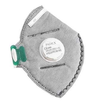 ماسک ضد گرد و غبار پادکس مدل n95 ffp2 8226 بسته 12 عددی