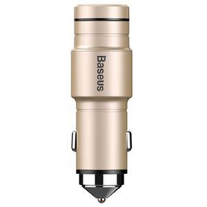 شارژر فندکی باسئوس مدل BC02 به همراه هدست بلوتوث