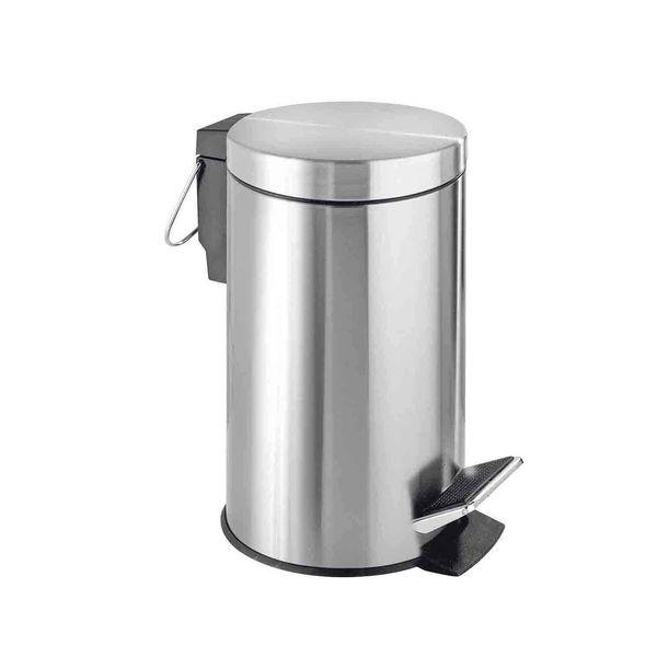 سطل زباله پدالی ونکو مدل Steel گنجایش 3 لیتر