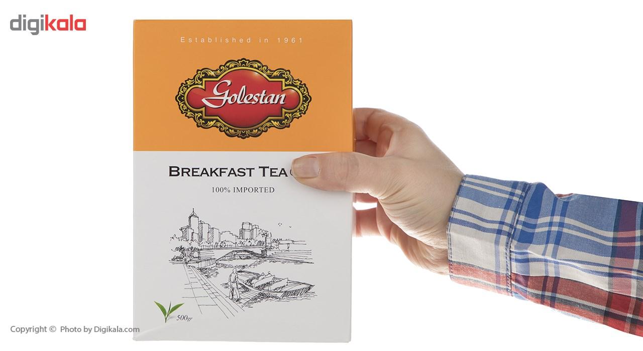 چای سیاه  صبحانه گلستان مقدار 500 گرم main 1 4