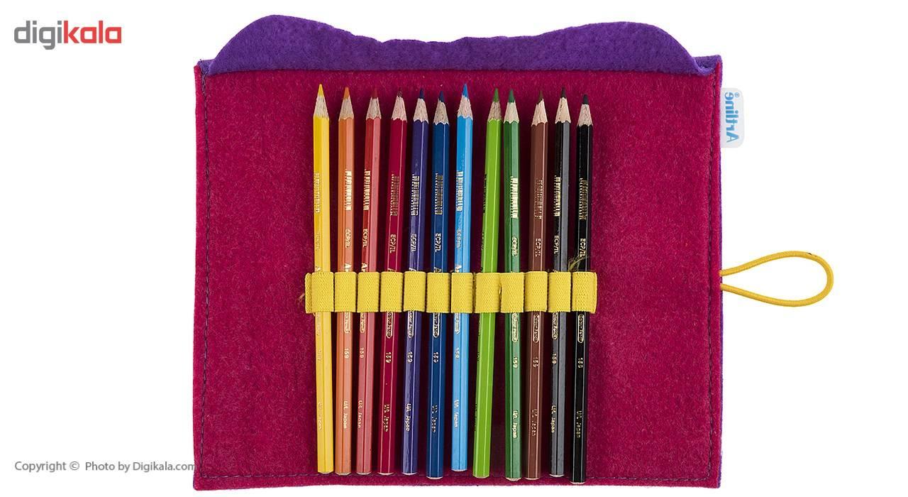مداد رنگی 12 رنگ آرت لاین main 1 4