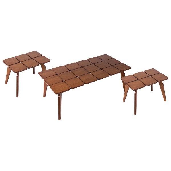 میز جلومبلی و مجموعه ی 2 عددی میز عسلی بالینکو مدل G60