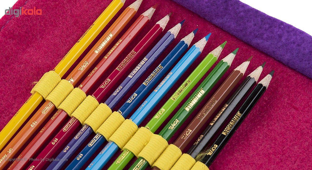 مداد رنگی 12 رنگ آرت لاین main 1 5