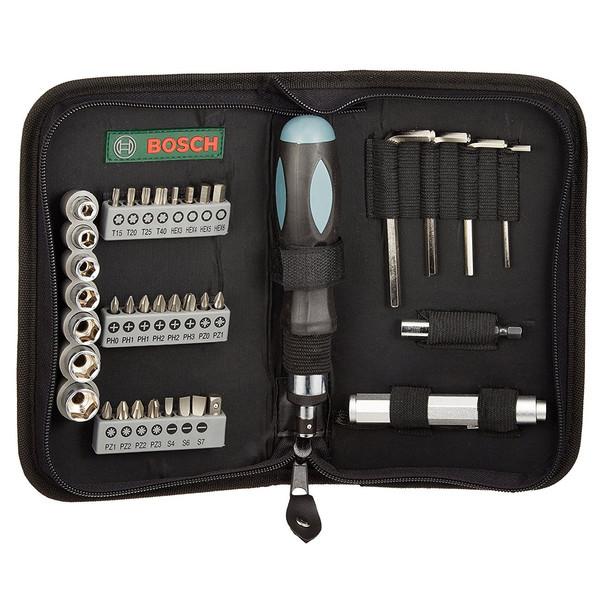 مجموعه 38 عددی ابزار بوش مدل 2607019506