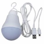 چراغ قوه آویز تاپ کور مدل USB-OTG thumb