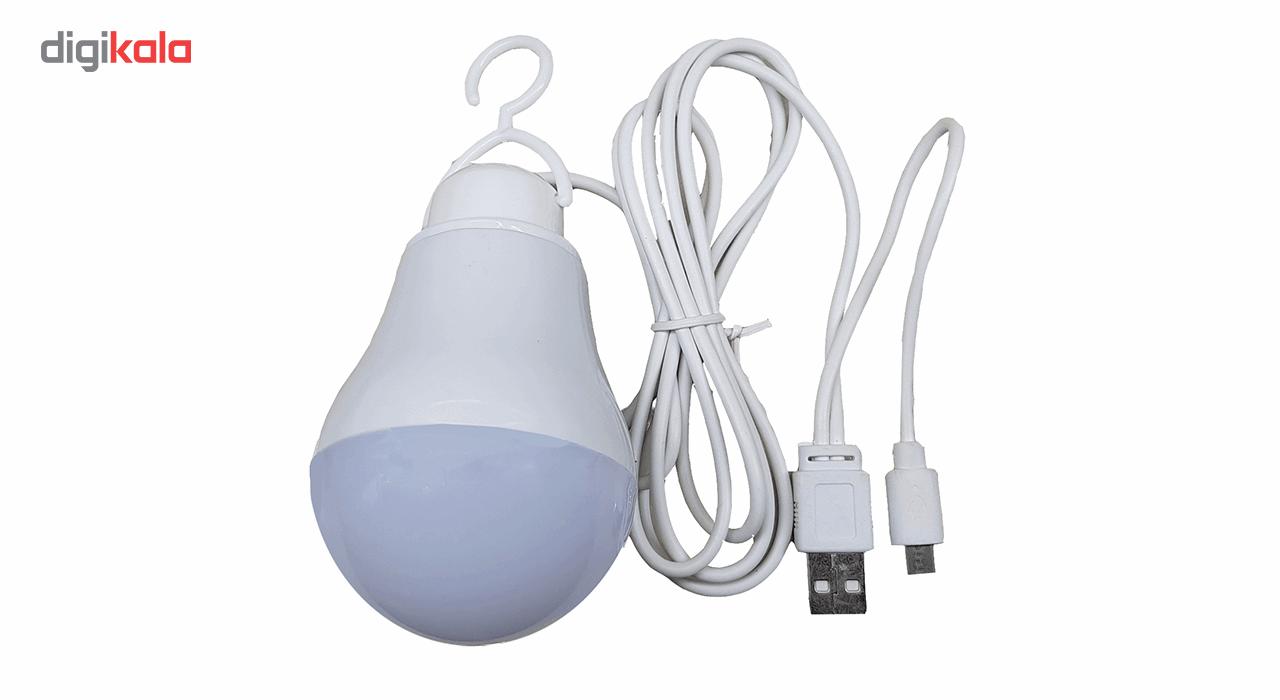 چراغ قوه آویز تاپ کور مدل USB-OTG main 1 1