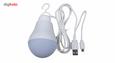 چراغ قوه آویز تاپ کور مدل USB-OTG thumb 1