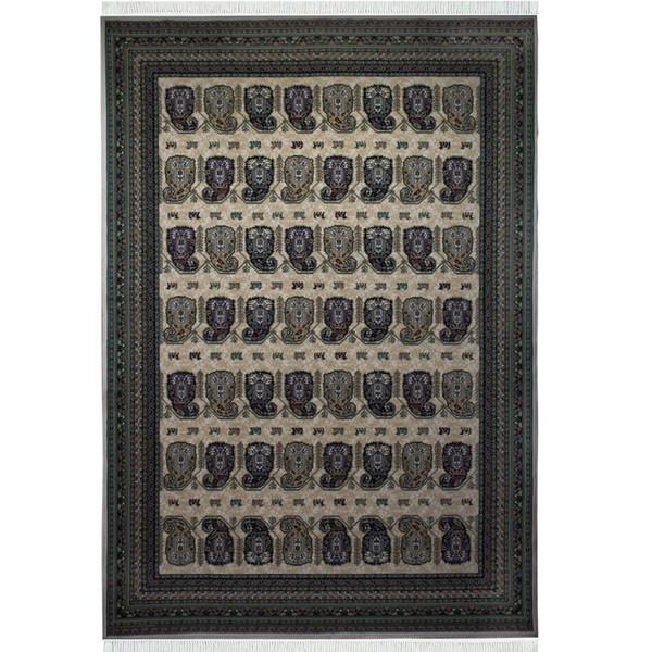 فرش ماشینی احتشامیه طرح ترمه