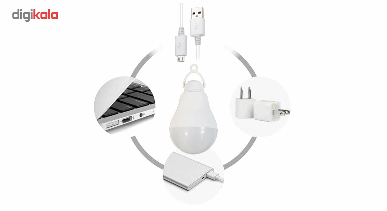 چراغ قوه آویز تاپ کور مدل USB-OTG main 1 2