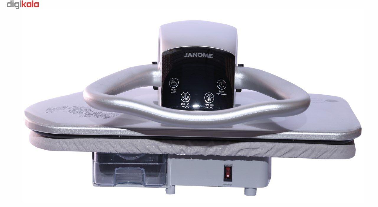 اتو پرسی ژانومه مدل ML400بخار از دو طرف main 1 2