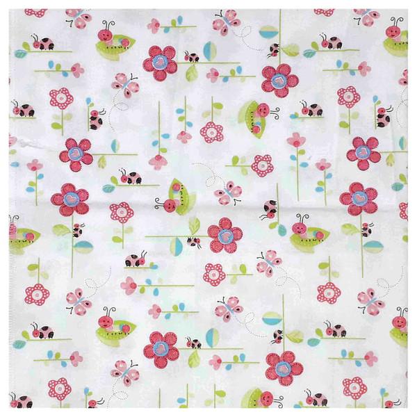 خشک کن نوزاد طرح گل و پروانه کد 3160
