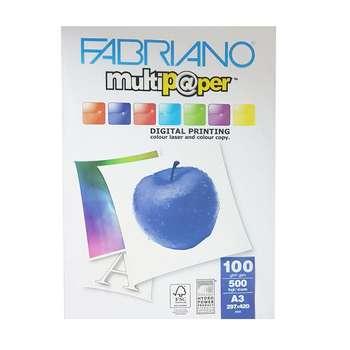 کاغذ فابریانو مدل G100 سایز A3 بسته 500 عددی