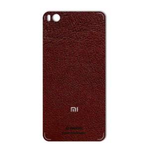 برچسب پوششی ماهوت مدلNatural Leather مناسب برای گوشی  Xiaomi Mi 5s