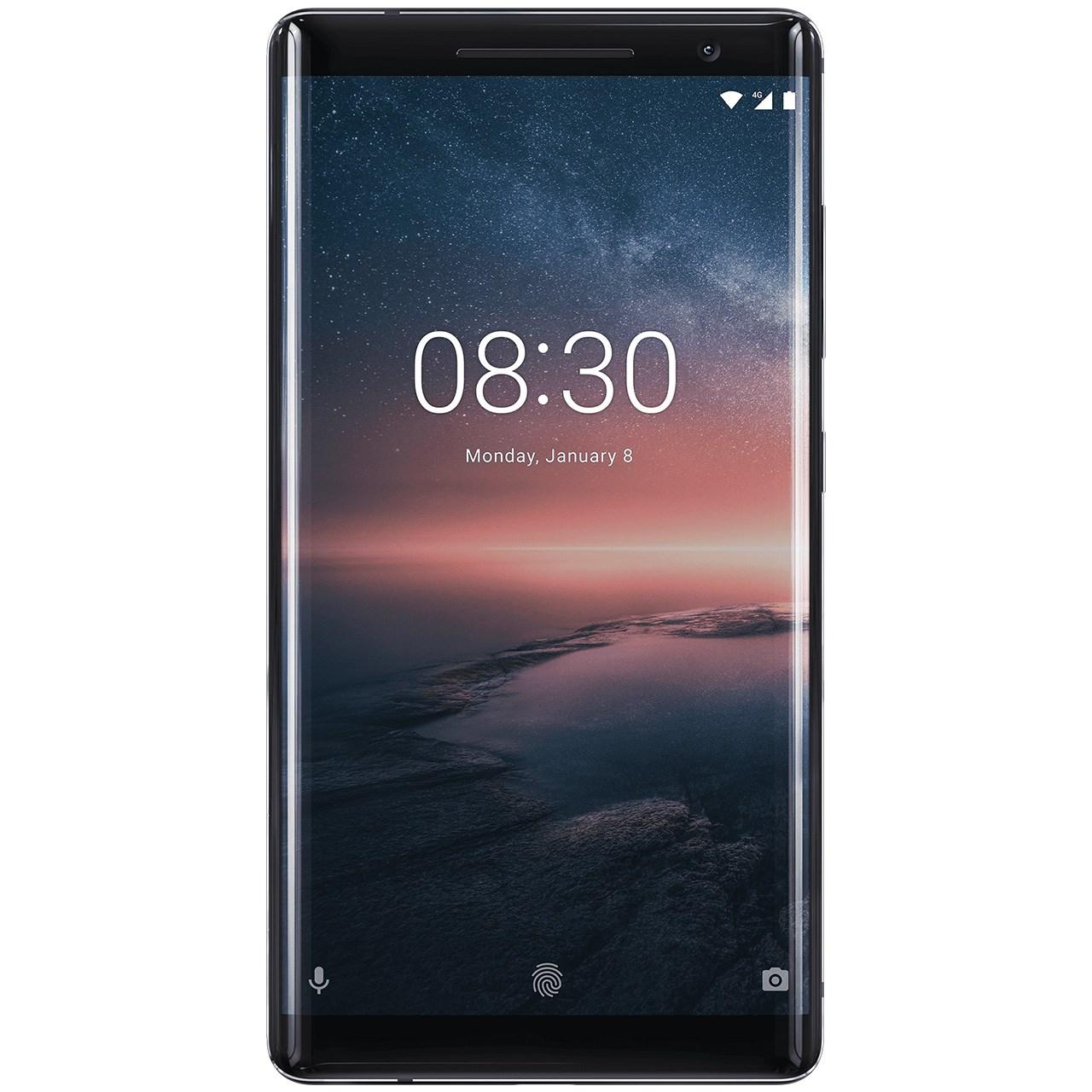 گوشی موبایل نوکیا مدل 8Sirocco ظرفیت 128 گیگابایت | Nokia 8 Sirocco 128GB Mobile Phone