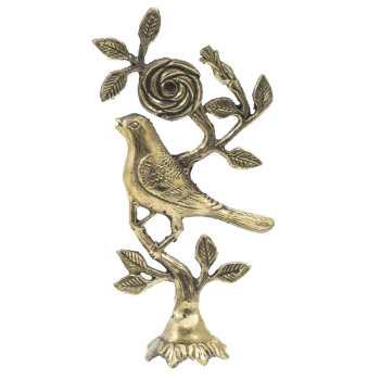 مجسمه برنزی شیانچی نماد بلبل کد 020030022