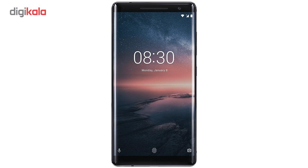 گوشی موبایل نوکیا مدل 8Sirocco ظرفیت 128 گیگابایت                             Nokia 8 Sirocco 128GB Mobile Phone