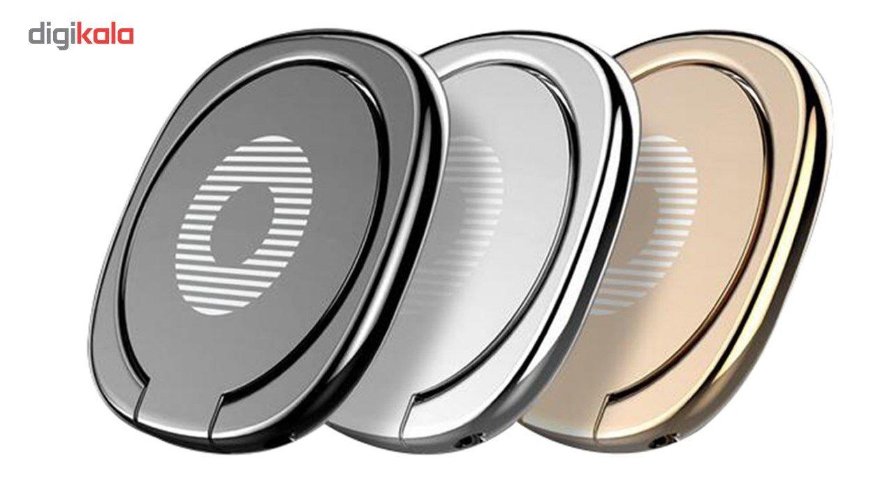 حلقه نگهدارنده گوشی موبایل باسئوس مدل Desktop Bracket main 1 1