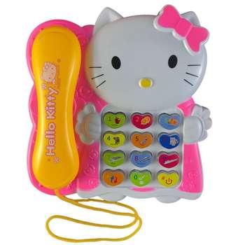 اسباب بازی آموزشی موزیکال Hello Kitty مدل تلفن