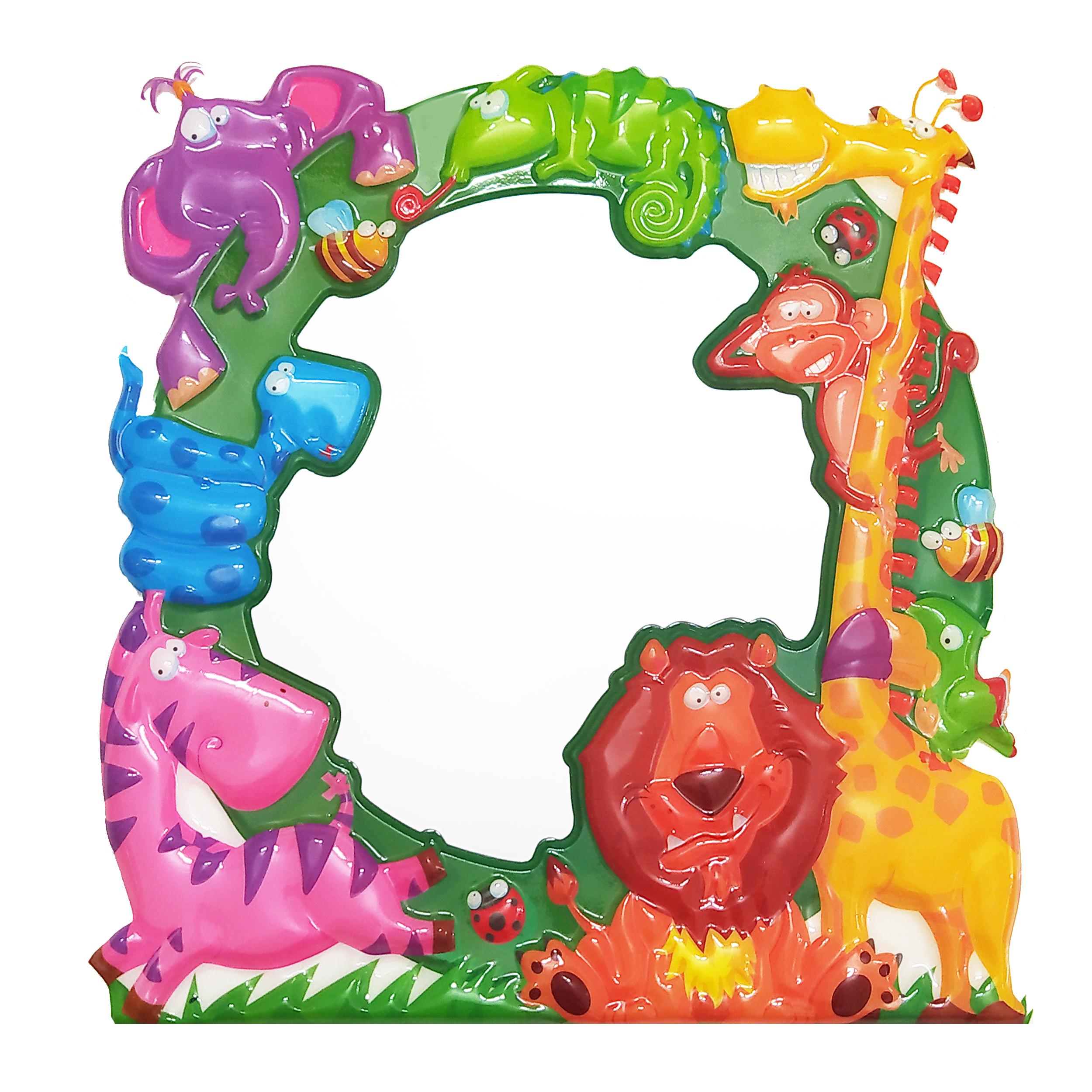 استیکر اتاق کودک طرح حیوانات کد 45