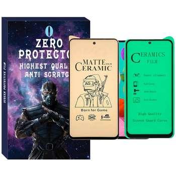 محافظ صفحه نمایش نانو زیرو مدل Zmc-01 مناسب برای گوشی موبایل سامسونگ Galaxy A51 مجموعه 2 عددی