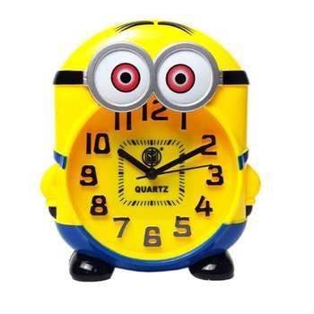 ساعت رومیزی کودک مدل مینیون کد minion.
