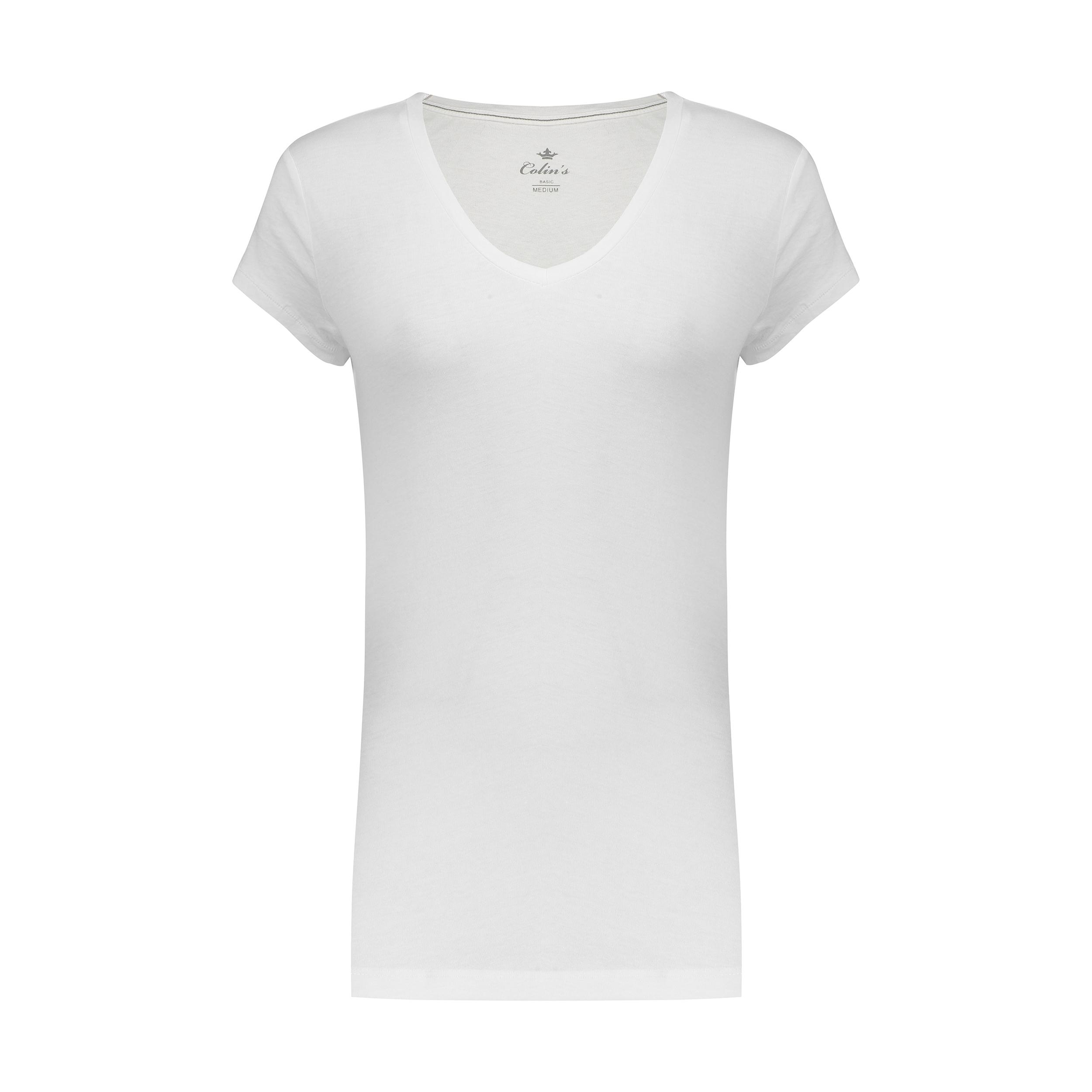 تی شرت زنانه کالینز مدل CL1019324-WHITE
