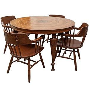 ست میز و صندلی نهارخوری مدل N555