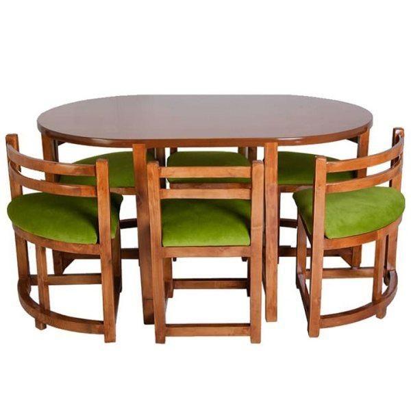 میز و صندلی ناهارخوری 6 نفره مدل Ro-CH-004