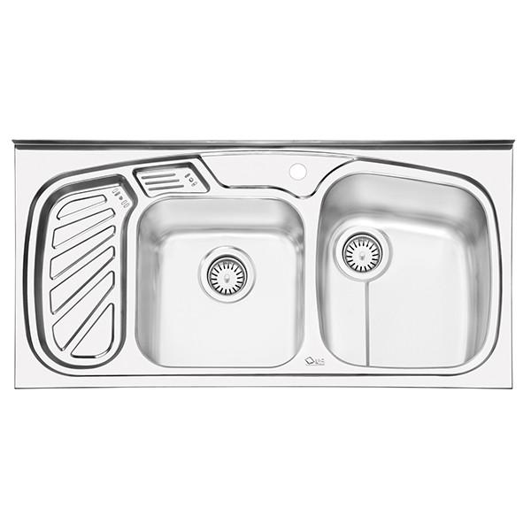 سینک ظرفشویی ایلیا استیل مدل 1020 روکار