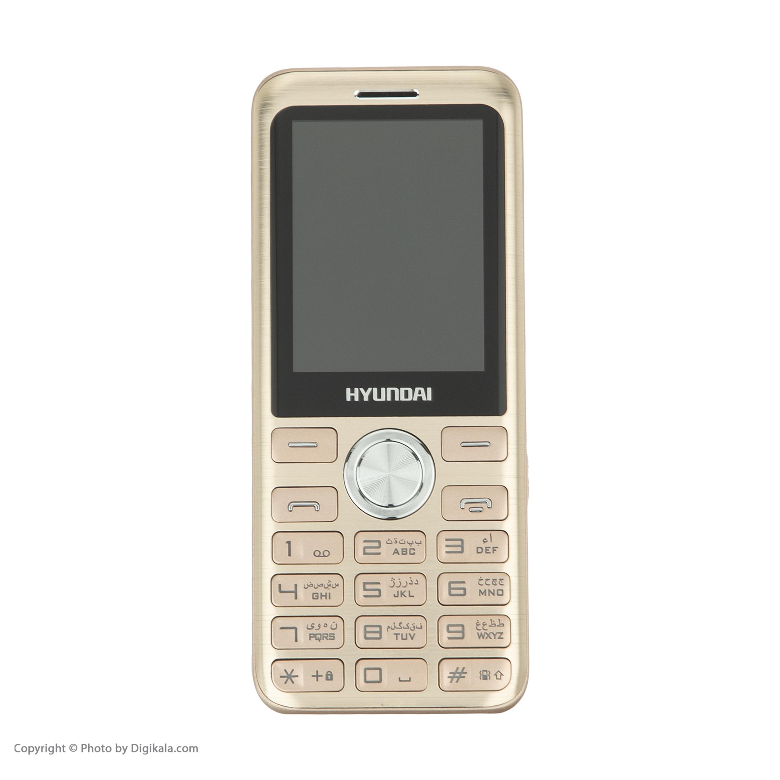 گوشی موبایل هیوندای مدل Seoul K3 دو سیم کارت main 1 12