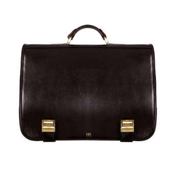 کیف اداری مردانه چرم نیروانا مدل A510