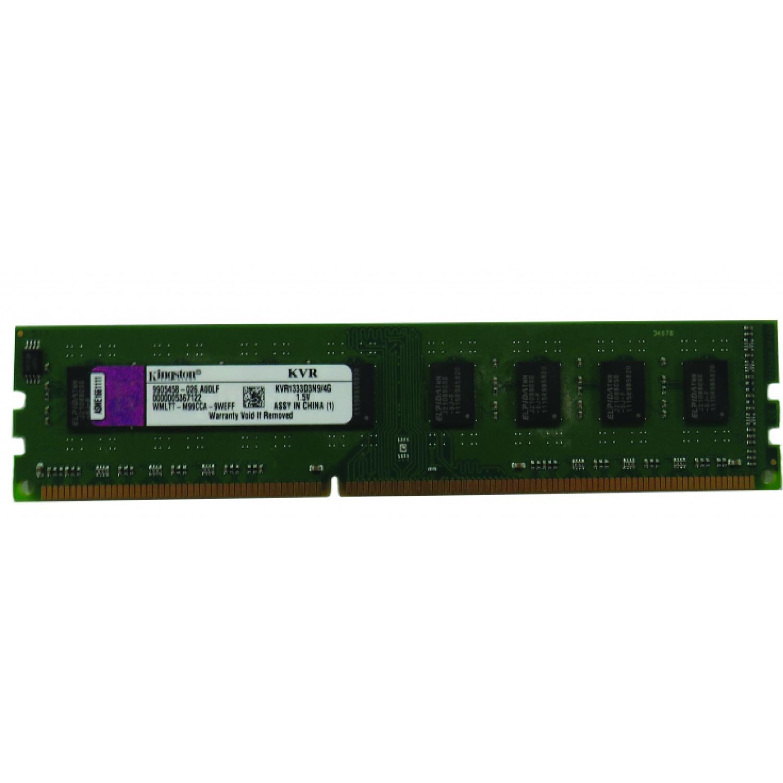 رم دسکتاپ DDR3 تک کاناله 1333 مگاهرتز CL9 کینگستون مدل PC3 ظرفیت 4 گیگابایت
