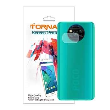 محافظ لنز دوربین مدل پرچسب مناسب برای گوشی موبایل شیائومی Poco X3