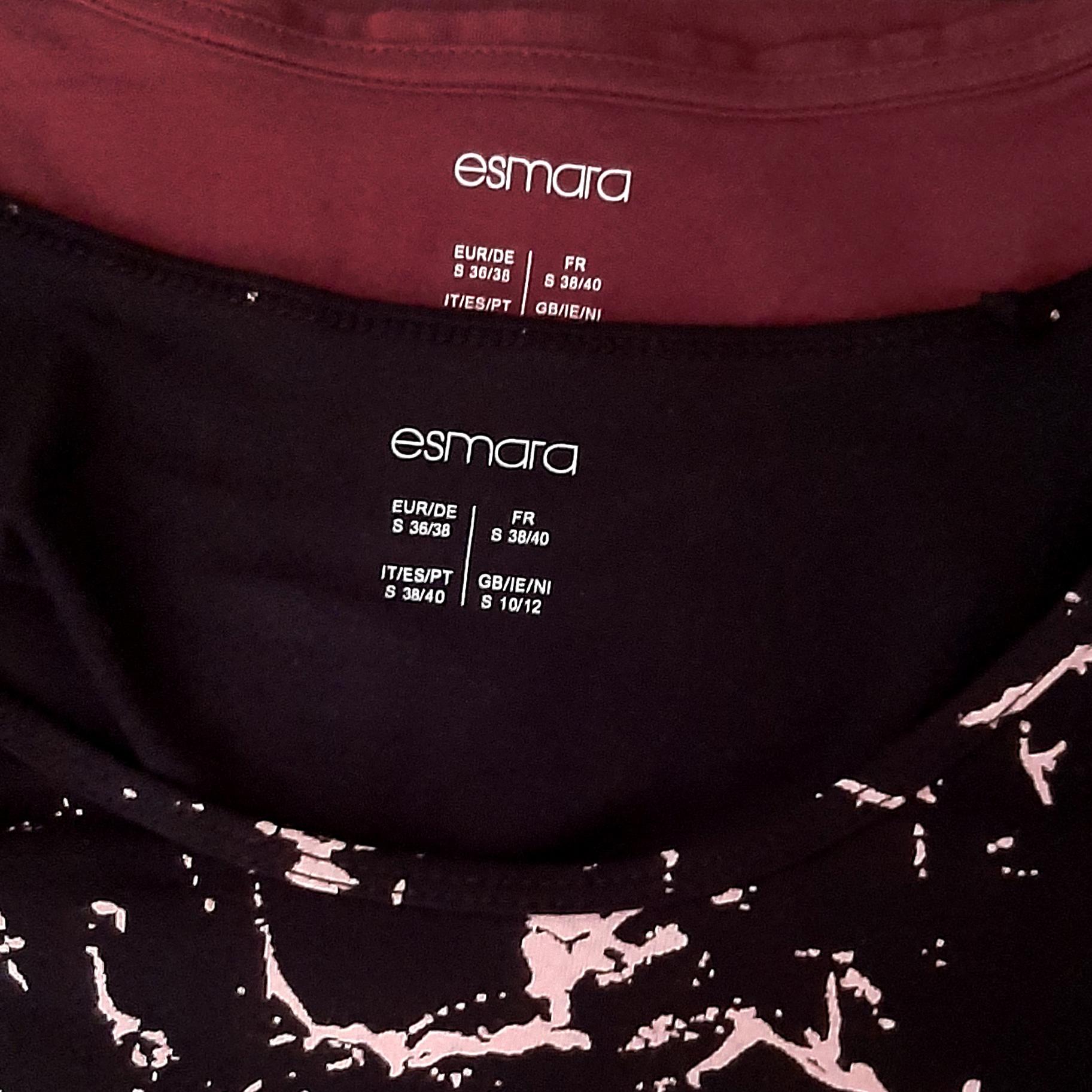 تی شرت آستین بلند زنانه اسمارا مدل 808as مجموعه 2 عددی thumb 2 2