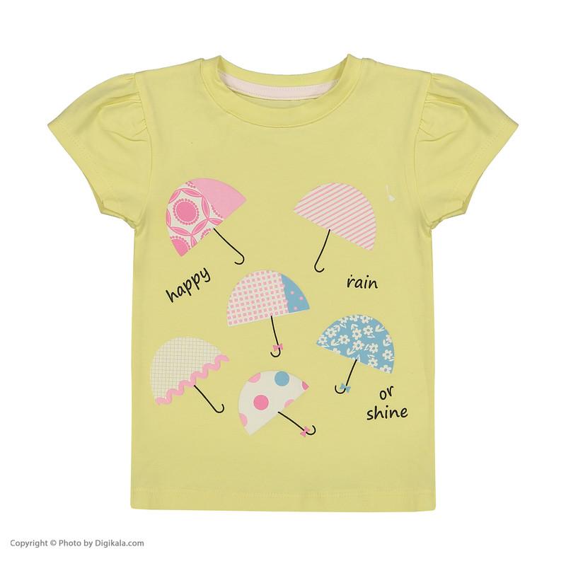 ست تی شرت و شلوار دخترانه نونا مدل 2211103-19