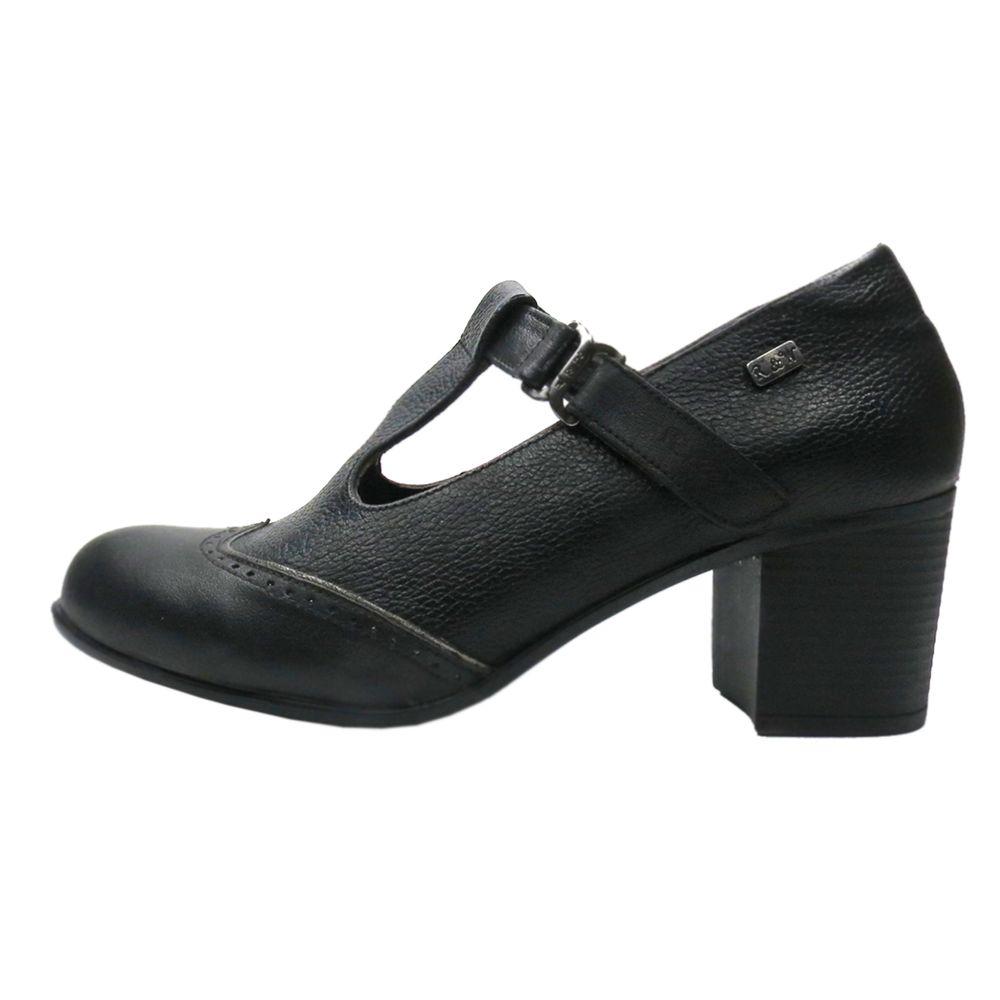 کفش زنانه آر اند دبلیو مدل 454 رنگ مشکی