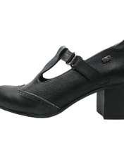 کفش زنانه آر اند دبلیو مدل 454 رنگ مشکی -  - 1