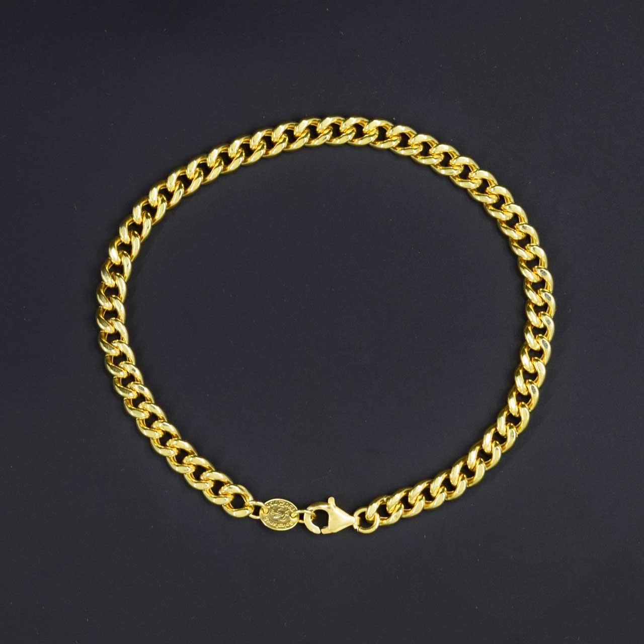 دستبند طلا 18 عیار زنانه کانیار گالری کد B12