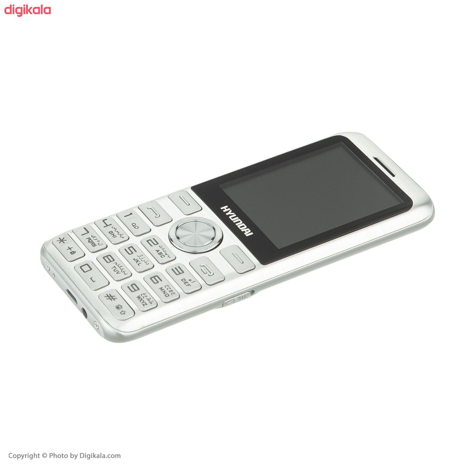 گوشی موبایل هیوندای مدل Seoul K3 دو سیم کارت main 1 2