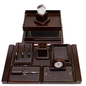 ست لوازم اداری رومیزی مدل 6001 مجموعه 10 عددی