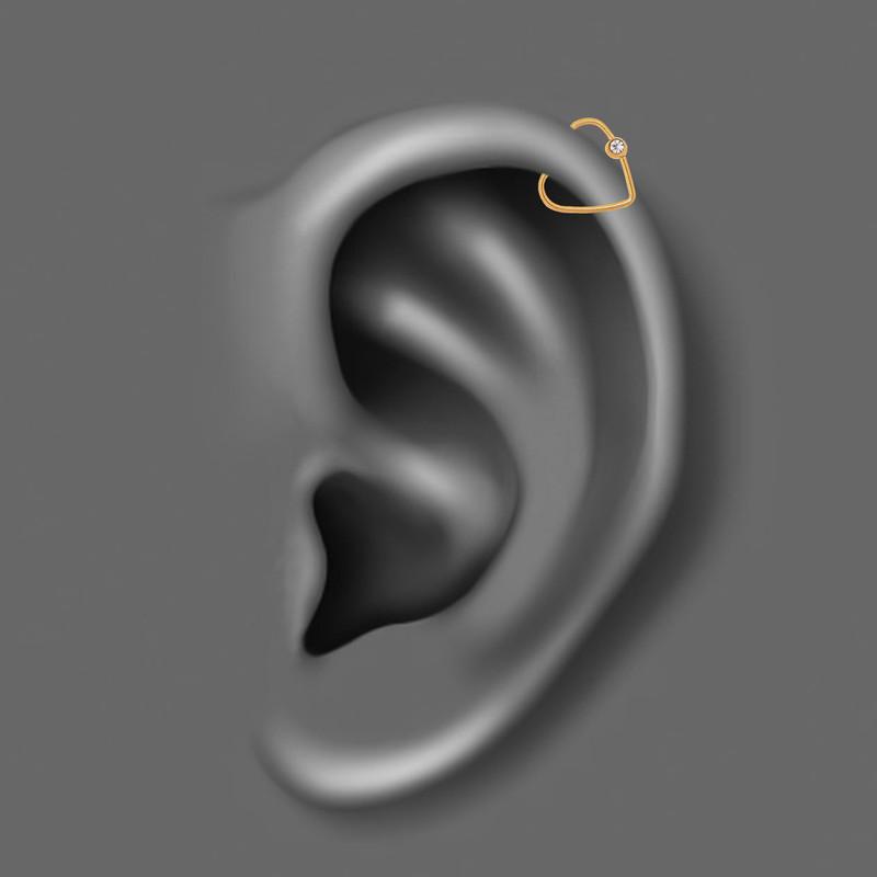 پیرسینگ گوش کد PS445