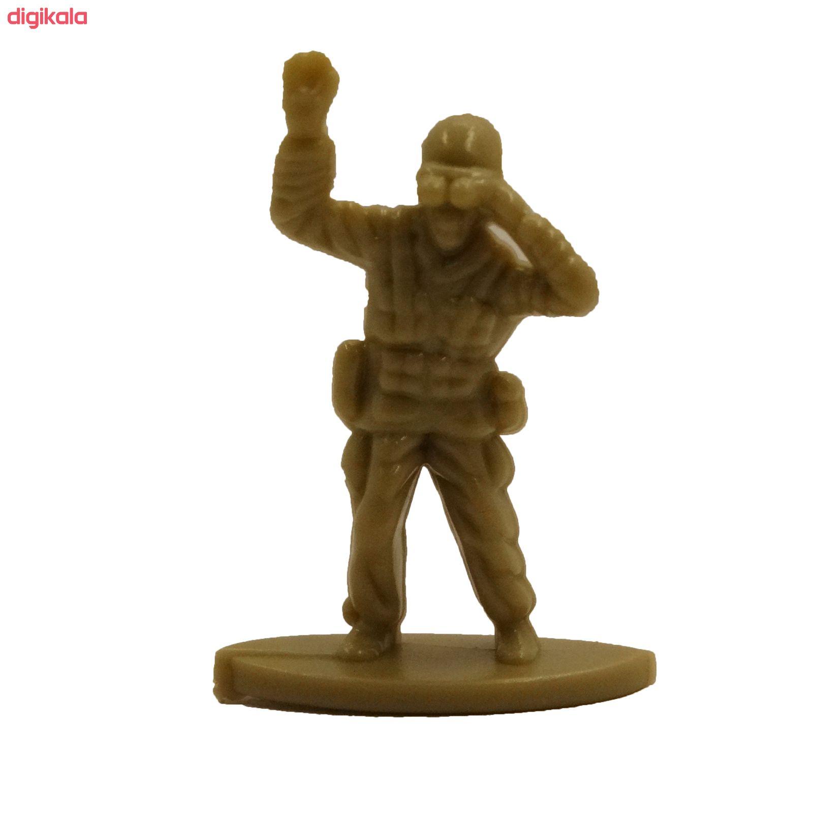 اسباب بازی جنگی مدل پادگان مجموعه 23 عددی main 1 11