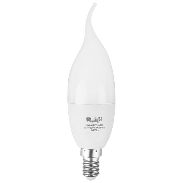 لامپ ال ای دی 5 وات افراتاب مدل AF-TC-0501-5 پایه E14
